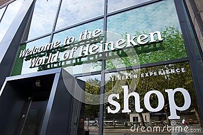 Heineken Experience Editorial Stock Photo