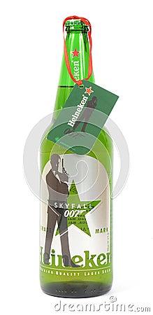 Heineken limited Edition bottle Editorial Photo