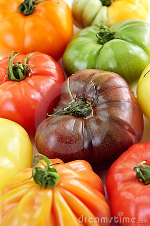Free Heirloom Tomatoes Royalty Free Stock Images - 9717319