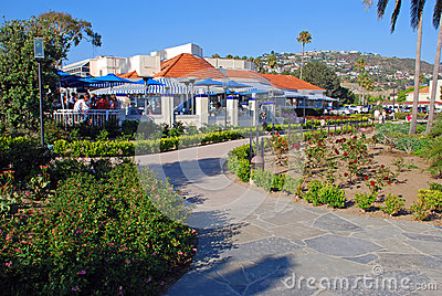 Heisler Park Gardens and Walkway, Laguna Beach, California