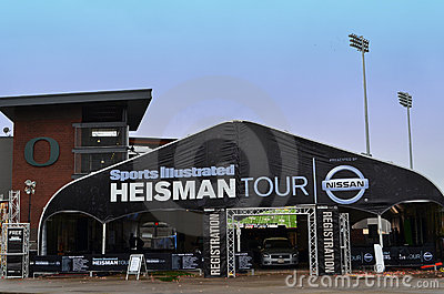 Heisman Tour Sponsored by Nissan Editorial Photography