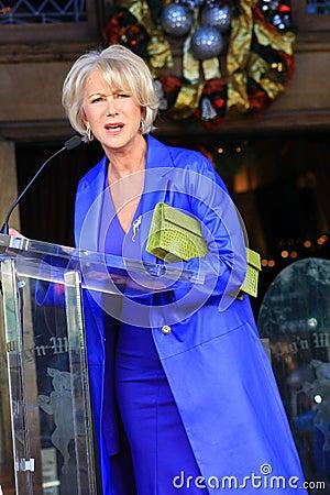 Helen Mirren Editorial Stock Photo