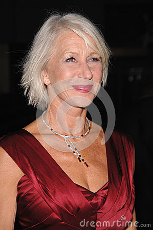 Helen Mirren,Queen Editorial Image