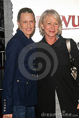Helen Mirren, Robin Wright,  Editorial Photo