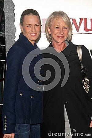 Helen Mirren, Robin Wright,  Editorial Photo