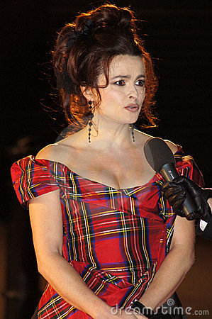 Helena Bonham Carter At The King s Speech Editorial Stock Image