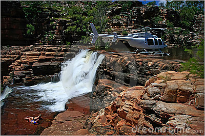 Heli Picnic in the Kimberley