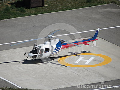 Helicopter Editorial Stock Image