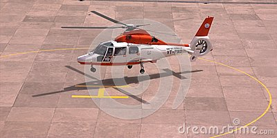 Helicopter as a taxi Editorial Photography
