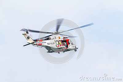 Helicopter AW139SAR Helimer Editorial Image