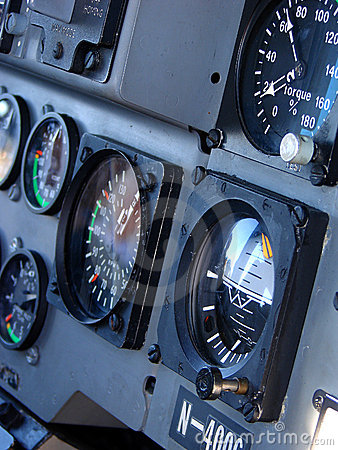 Free Helicopter Cockpit Stock Photography - 2498602