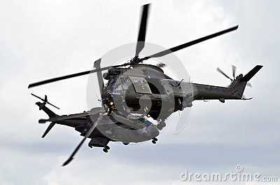 Helicopter dance Editorial Stock Image