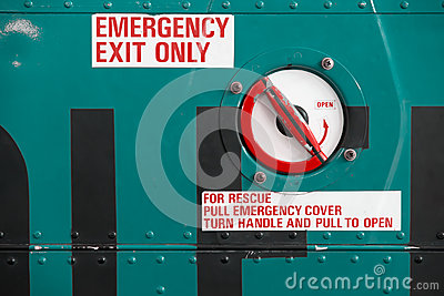 Helicopter Emergency Exit