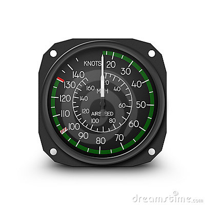 Helicopter gauge - air speed indicator