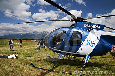 Helicopter Hughes MD 530F Editorial Image