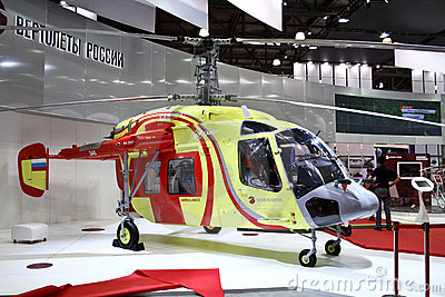 Helicopter Ka226T Editorial Photo