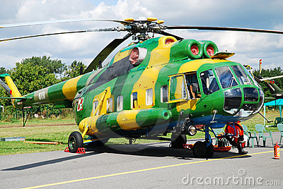 Helicopter Mi-8 Editorial Photography