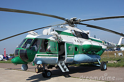 Helicopter Mi-8  AMT Editorial Stock Image