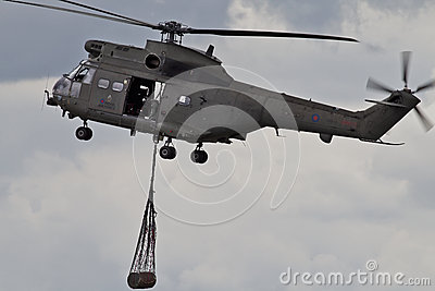 Helicopter resupply Editorial Photo