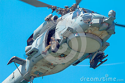 Helicopter SH-60B Seahawk Editorial Photography