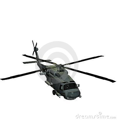 Helicopter sh60 sea hawk