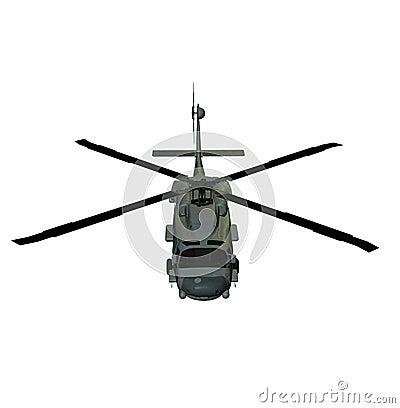 Helicopter sh60 sea hawk