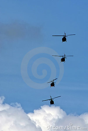 Helicopter squadron