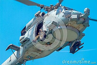 Helikopter sh-60B Seahawk Redactionele Fotografie