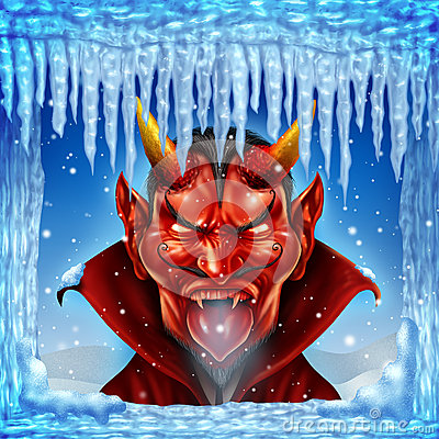 when hell freezes over stock images image 35165884