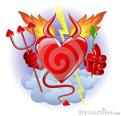 Free Hell Heart Stock Photo - 3879160