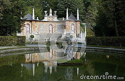 Hellbrunn palace park