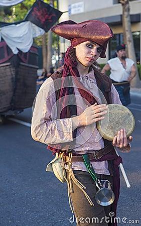 Helldorado days parade Editorial Photo