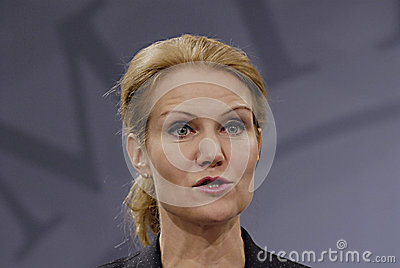 HELLE THORNING-SCHMIDT Editorial Photo