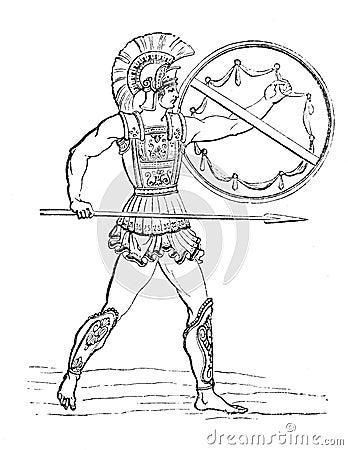 Hellenic warrior