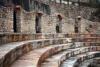 Hellenistic theatre in Ohrid
