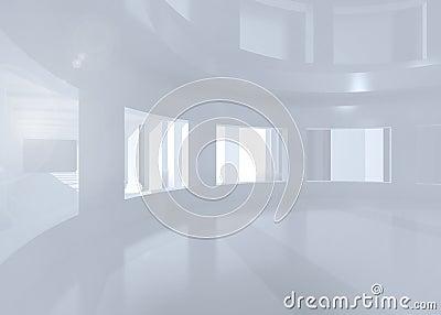 Heller raum mit fenstern lizenzfreie stockfotos bild for Heller raum