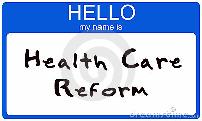 Hello  my name is Health Care Reform
