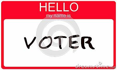Hello my name is Voter