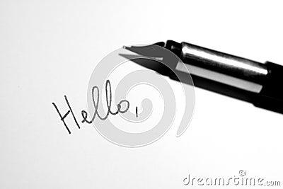 Hello note