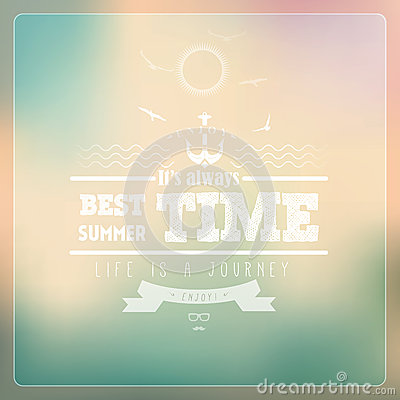 Free Hello Summer / Colour Background Stock Images - 30889254