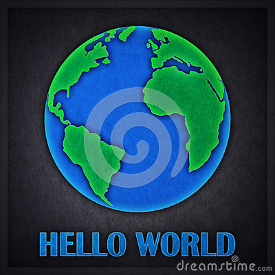 Hello World Concept Design Card