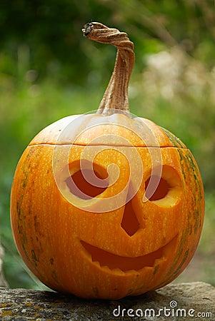 Helloween pumpkin lantern