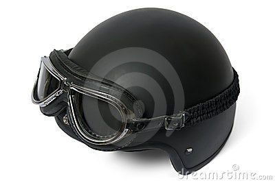 Helmet adn goggles