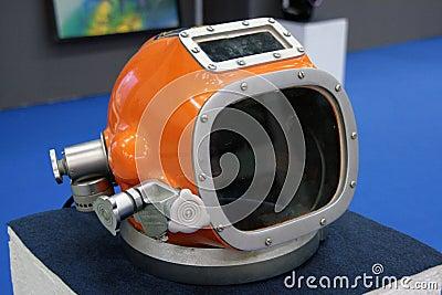 Helmet diving suit Editorial Stock Photo