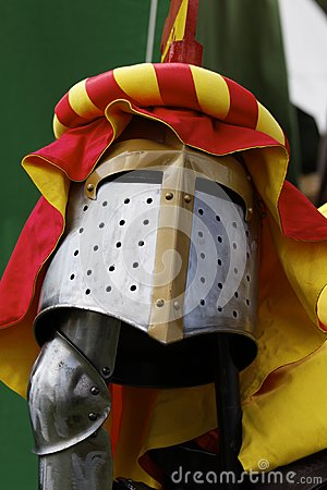 Helmet of a knight