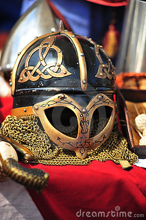 Helmet of Vikings