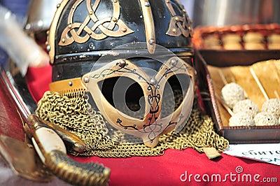 Helmet of Vikings