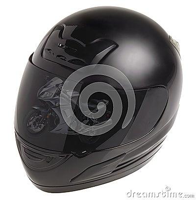 Helmets for motor sports