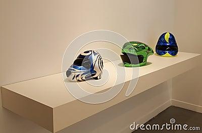 Helmets Patricia Piccinini Arter Editorial Photography