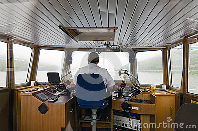 Helmsman Editorial Image